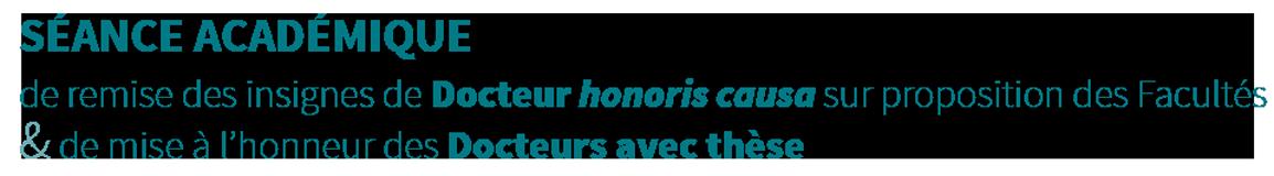 Docteurs à thèse et Docteurs honoris causa Retina Logo
